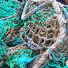 Fishing Nets Dingle, Ireland by Cathy Klima