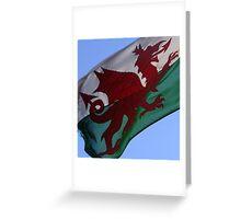 Welsh Dragon Greeting Card