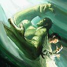 The Impressionable Hulk by Steven Stills