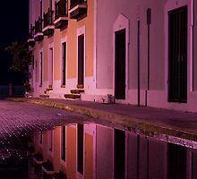 Old Reflections in San Juan by Michael Anderson