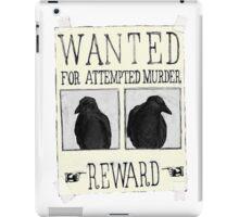 Attempted Murder iPad Case/Skin