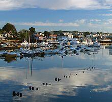 Rocky Neck Harbor by Judith Winde