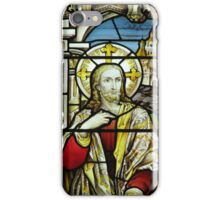 Christ in the house of Mary and Martha - Christ iPhone Case/Skin