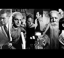 20th Century Avant Garde Composers by innerspaceboy