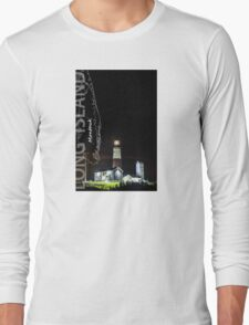 Montauk Point Light. Long Sleeve T-Shirt
