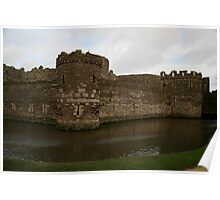 BEAUMARIS CASTLE.  Poster