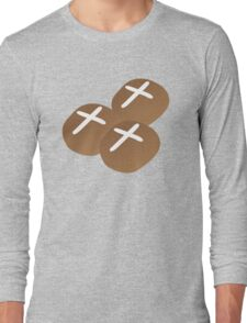 Hot cross buns for Easter Long Sleeve T-Shirt