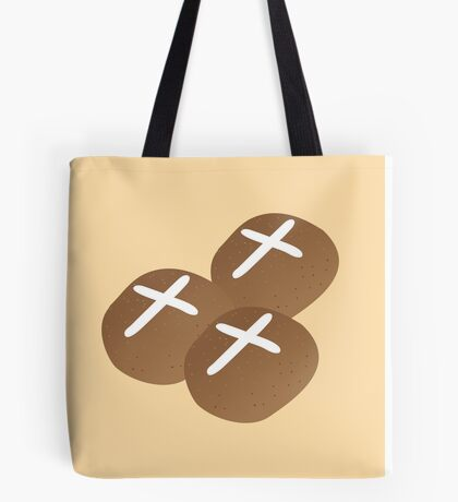 Hot cross buns for Easter Tote Bag