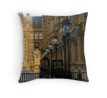 bulbs light and shadow (house of parliament) Throw Pillow