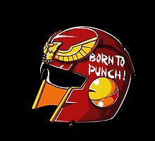 Born to Punch by coinbox tees