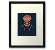 Planet Bomber Hothead Framed Print