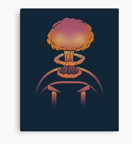 Planet Bomber Hothead Canvas Print