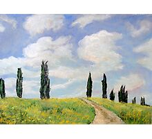 Somewhere in Tuscany Photographic Print