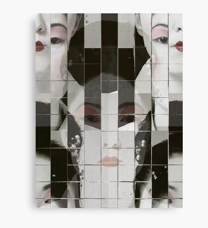 Geisha Blocks Canvas Print