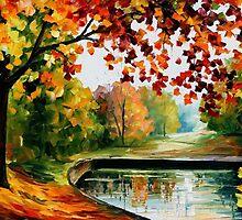 Far Hills — Buy Now Link - www.etsy.com/listing/214759764 by Leonid  Afremov