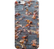 """This is why they call """"Autumn"""", """"Fall""""! iPhone Case/Skin"""