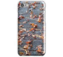 "This is why they call ""Autumn"", ""Fall""! iPhone Case/Skin"