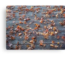 """This is why they call """"Autumn"""", """"Fall""""! Canvas Print"""