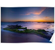 Sunset at Ardrossan Poster