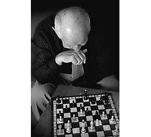 Chess Master.. Photographic Print