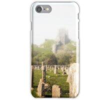Corfe Castle in the MIst iPhone Case/Skin
