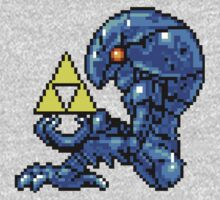 Metroid Chozo with Triforce T-Shirt