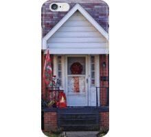 A festive door iPhone Case/Skin