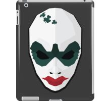 Clover - Payday 2 low poly iPad Case/Skin