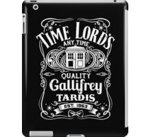 Doctor Who Time Lord's Quality Gallifrey Tardis Distressed Design iPad Case/Skin