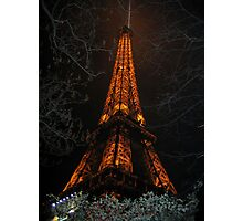 Uprooted Eiffel Photographic Print