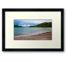 Tropical escape Framed Print