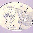 Garden Horse by marsbar007
