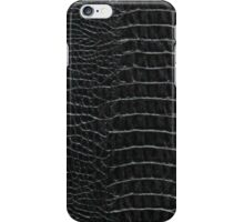 Black Alligator Skin iPhone / Samsung Galaxy Case iPhone Case/Skin