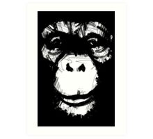 Everything's More Fun With Monkeys Art Print