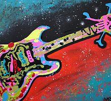 Space Guitar by Laura Barbosa