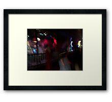 Drunken Ghost Framed Print