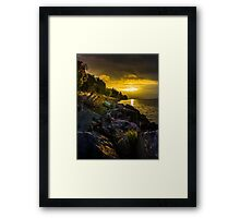 Morning gold II Framed Print