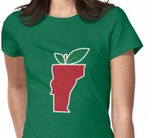 Vermont Apple Womens Fitted T-Shirt