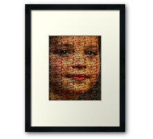 Modern Mona Framed Print