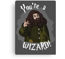 You're a Wizard! Canvas Print