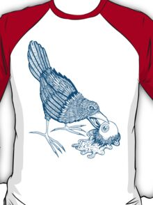 Don't Feed The Birds (Blue Variant) T-Shirt