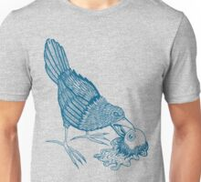 Don't Feed The Birds (Blue Variant) Unisex T-Shirt