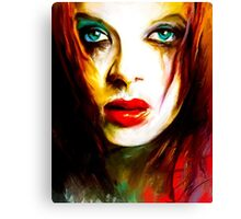 SHIRLEY MANSON Canvas Print