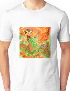 psychedelic ART, hand DRAWN bit by bit digi Unisex T-Shirt