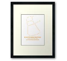 Kasterborous Constellation Framed Print