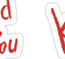 BioShock – Would You Kindly (Solid Red) Sticker