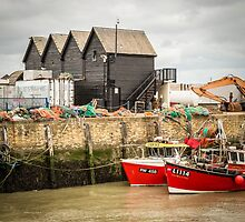 Whistable Harbour  Kent UK by Pauline Tims