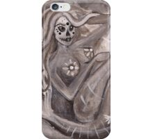 Day of the Dead Mermaid iPhone Case/Skin