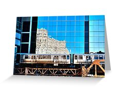 train in the loop Greeting Card