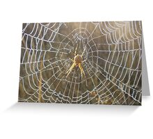 A Walk in the Morning Dew Greeting Card